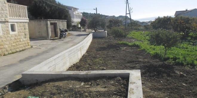 Potporni zid u Ulici kneza Mislava