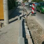 Radovi na Jadranskoj magistrali u Strožancu