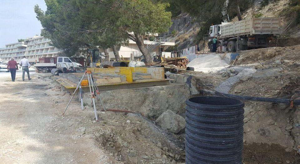 Kanalizacijski sustav Općine Podstrana, I etapa , 1. faza
