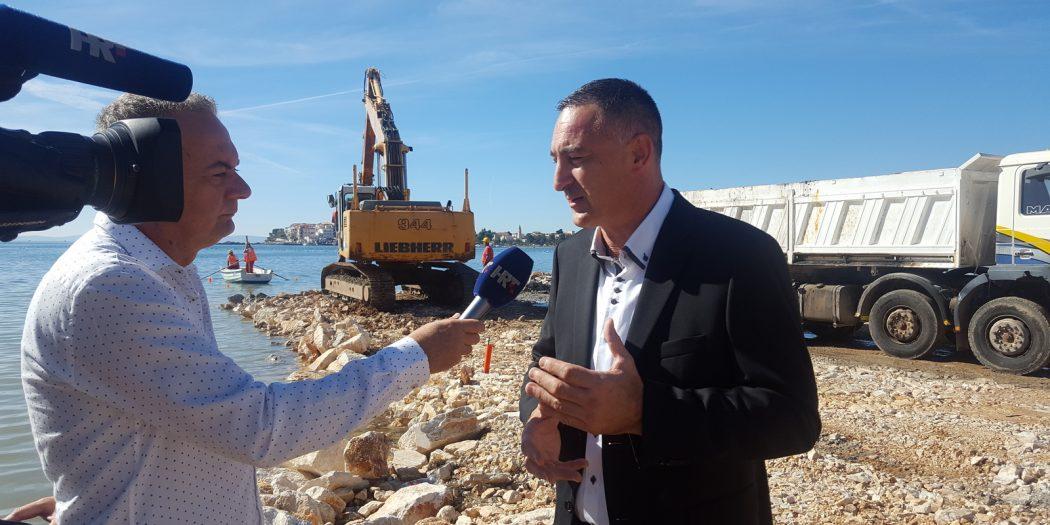 Reportaža HRT-a o projektu uređenja Obale od rijeke Žrnovnice do sportske lučice Strožanac