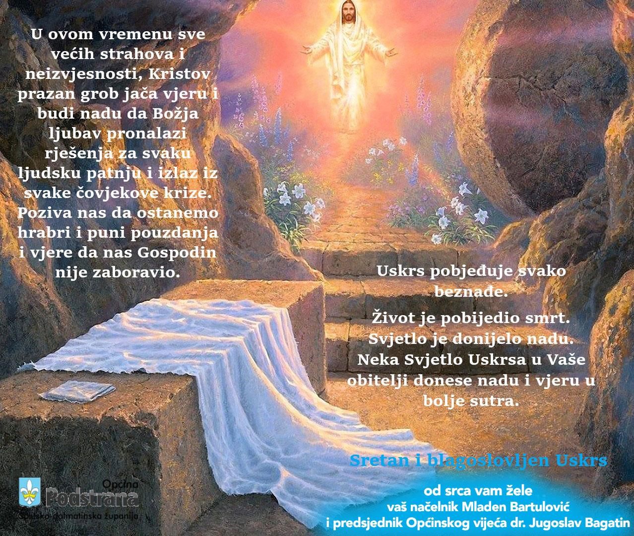Čestit i blagoslovljen Uskrs!