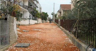 Ulica Križine - asfaltiranje