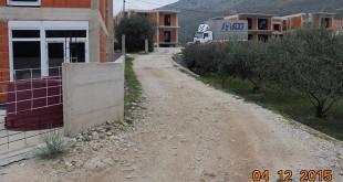 Ulica Gradac - kanalizacija