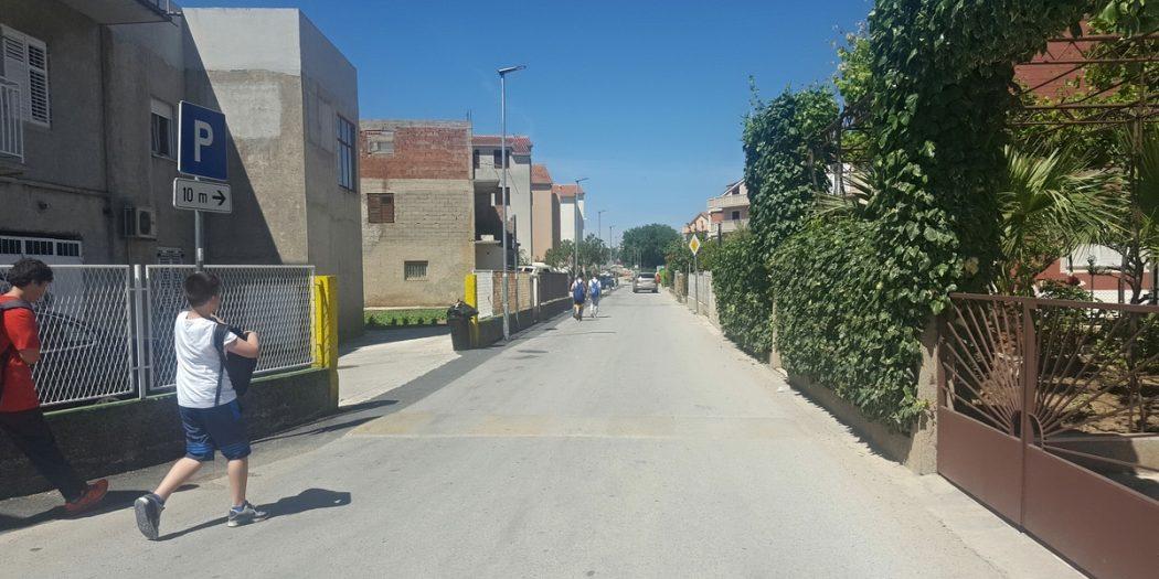 Rekonstrukcija rasvjete u ulici Gospe u Siti
