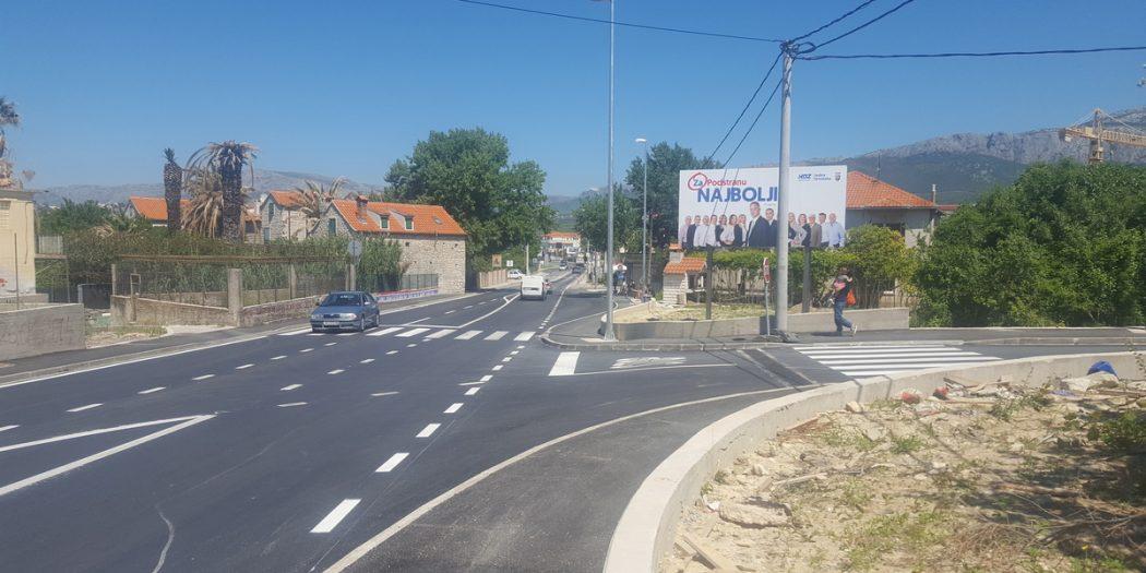Završena je rekonstrukcija dva križanja na D8